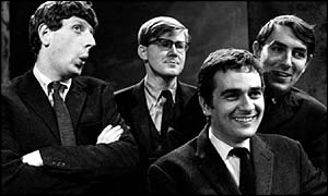 Beyond the Fringe, Dudley Moore, Jonathan Miller, Alan Bennett, Peter Cook