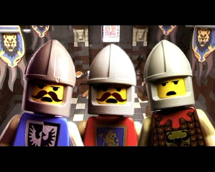 Monty python and the holy grail lego - Knights of the round table lego ...